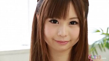 Perfect Japanese teen solo masturbation tease and dildo play