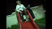 Mature at the playground