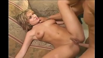 Hot blonde MILF Tyla Wynn gets her asshole fucked hard by fit guy