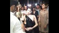 Sexy Dance Mujra in public flashing boobs