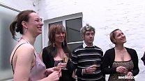 Gala evening turns into German hardcore swinger party
