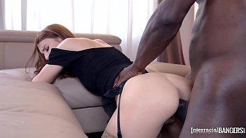 Interracial Banging of Hot and Horny Secretary Amirah with Huge Black Cock