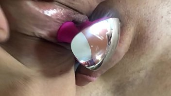 My pussy plays with new toy
