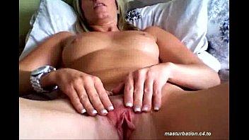 Milf Nance Inserts big pink dildo