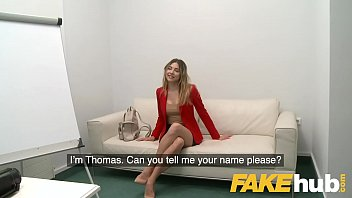 Fake Agent Cute ass Russian with perfect tits takes big cock in casting
