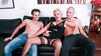 CASTING ALLA ITALIANA - #Shadow - Horny Cougar Gets DP In Hot FFM Threeway