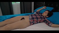 Sweet Teen Caught by Dad in Bed Anikka Eve