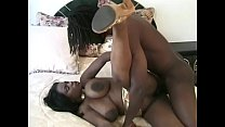 Black stud with a huge cock pounds curvy MILF Lola Lanes ass in bed