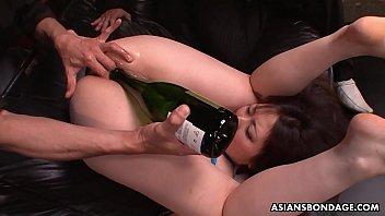 Naughty Kaoru Hirayama gets toyed and fingered by two perverts