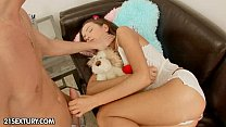 Anal teen angel Nataly Gold 5 min