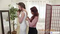 MOMMY'S GIRL - Stepmom helps with the wedding dress - Syren De Mer and Elena Koshka
