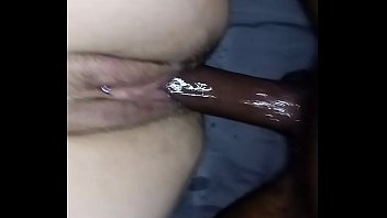 Wet pussy squirts from BBC pounding
