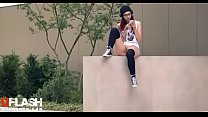 Teen Flash in Public 2