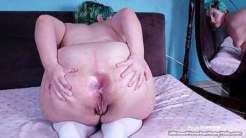 Anal Gape Adventures 2 - Buttered anal fisting and gaping with my HUGE toy! 13 min