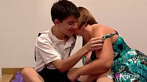 Jordi fucks a girl while her brother is next to him watching!!! 45 min