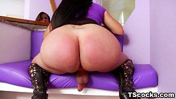 Fat ass latina shemale