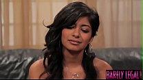 18yo latina Ruby Rayes fed cock before lovemaking 8 min