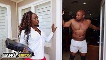 BANGBROS - Vickie Starxxx Bounces Her Black Big Ass On Prince Yahshua's BBC