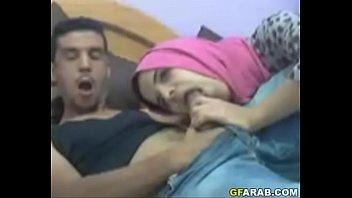 Arab Teen Sucks Big Cock