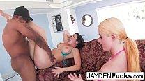 Jayden and Sophie Return To Black Cock