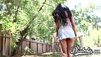 18yo latina Ruby Rayes stuffed with big dick before facial 12 min