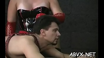 Naked doll awesome fetish bondage sex scenes with old man