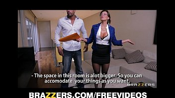 SEXY Spanish real estate agent fucks her client to make a sale