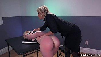 Lesbian officer anal fucking blonde
