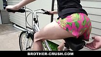 Little Stepbrother Teaches How To Suck And Ride RAW