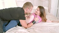 I Fucked Her Finally - Hottie rides dude until they both orgasm