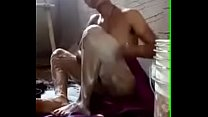 Indian house wife show her boobs while bathing