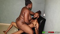 BBW With Big Boobs Takes On Slim Guy With Long Dick - NOLLYPORN
