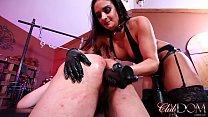 Sheena Straps Her Slave/Stretch Your Ass for Goddess Sheena