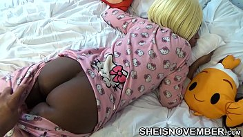 HD Slow Motion Slept Step Sister , In Pink Hello Kitty Pajamas , Brown Ass And Pussy Pulled Down By Pervert Step Brother , Jerking Off Big Dick On Her Big Innocent Butt Msnovember Reality Porn Video