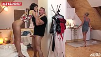 KINKY INLAWS - #Angie Moon - A Good Father Always Helps His Russian Teen Stepdaughter