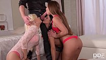 Extremely hot strip poker orgy with Aida Sweet & Candee Licious & Amirah