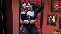 Amanda Souza aprontando com Loupan