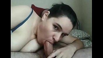 sucking and deepthroat blowjob part1