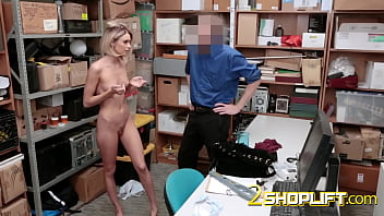 Emma Hix is c. by horny officer into taking his hard cock