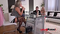 Ultra Hot Threesome Sex Therapy with Eva Parcker & Christen Courtney GP504