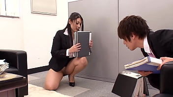 Fucking The Japanese Office Slut