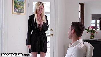 1000Facials Cheating MILF Neighbor Craves Young Dick & A Facial 7 min