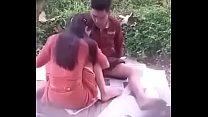 Myanmar couple fuck in public park 001