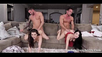 NAUGHTY DAUGHTERS make the best out of SICK HELPLESS DADs
