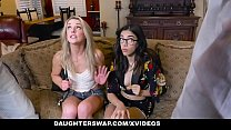 DaughterSwap - Hot Teen Hookers (Harmony Wonder) (Kate Kennedy) Fucked By Each Others Dads