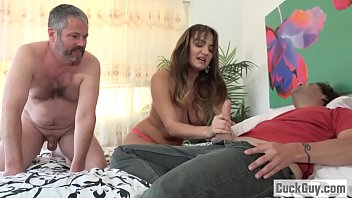 Wife Decides to Fuck With Her Hubby's Business Partner