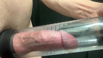 Pumping the cum out