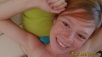 Teen ginger porno newbie 8 min