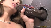 Tommie Ryden Rendezvous With A Big Black Cock - Gloryhole