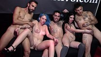 Ana Marco does a blowjob on the stage to Jericob